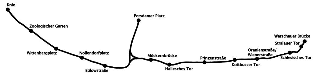 Die Stammstrecke von 1902 - Grafik - Vielen Dank an: VernebeltPinguin (wikimedia lizenz CC by SA 3.0)