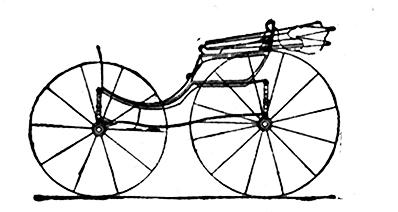 Kutschenbezeichnung Damen oder Ladies Phaeton