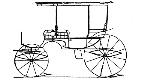 Jagdwagen-Kutsche-Carryall-Carriage