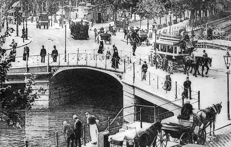 Die Potsdamerbrücke um 1890 - Ein funktionales Schmuckstück