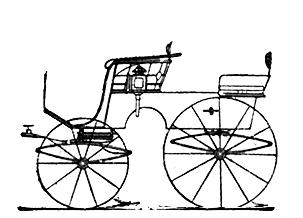 T-Cart oder Stanhope OHNE Verdeck - Kutschentypen